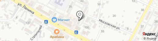 Пивная галерея на карте Железноводска