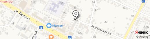 Железноводское АрхПроектБюро на карте Железноводска