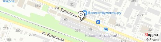 Оптовая мебельная компания на карте Пятигорска
