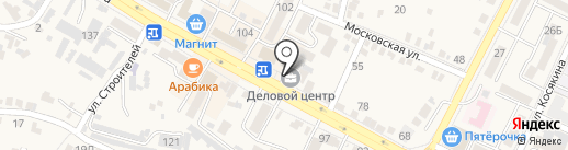 Скарлетт на карте Железноводска