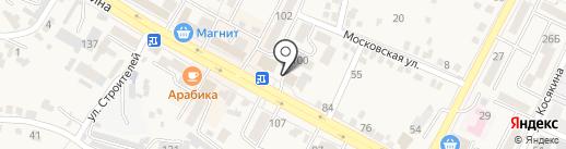 Автомагазин №1 на карте Железноводска