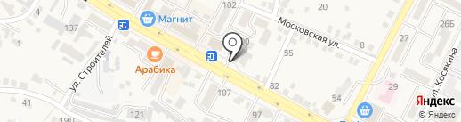 Владимир на карте Железноводска