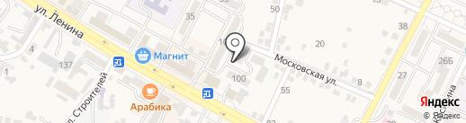 Эгоистка на карте Железноводска