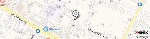 Железноводское АрхПроектБюро, МУП на карте Железноводска