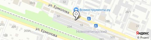 Мебель ОПТ на карте Пятигорска