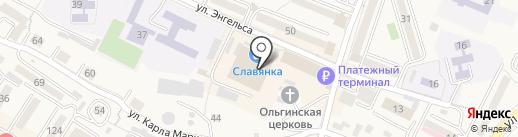 Магнит Косметик на карте Железноводска