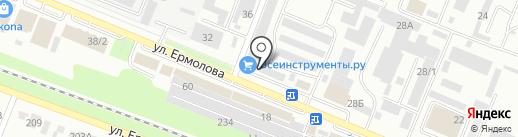 Вюрт-Русь на карте Пятигорска