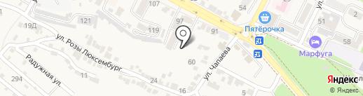 Территориальный орган Федеральной службы государственной статистики по Ставропольскому краю на карте Железноводска