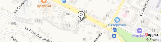 Риэлт-Сервис КМВ на карте Железноводска