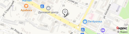 Кавминлифт на карте Железноводска