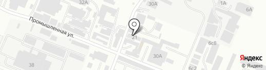 Профессиональный текстиль на карте Пятигорска