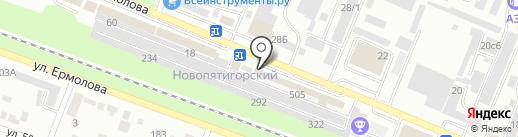 Барокко на карте Пятигорска