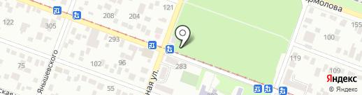 Ателье на карте Пятигорска
