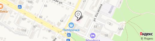 Женская консультация №1 на карте Железноводска