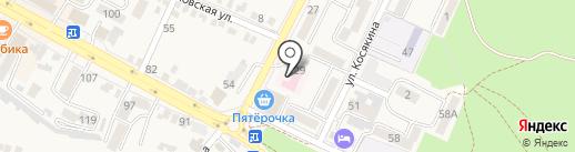 Городская поликлиника №1 на карте Железноводска