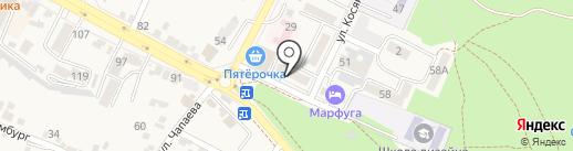 Лилия на карте Железноводска