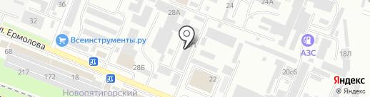 Южэнерготехзащита на карте Пятигорска