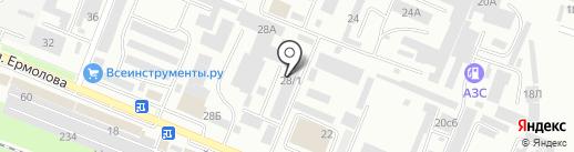 КИП-Сервис на карте Пятигорска