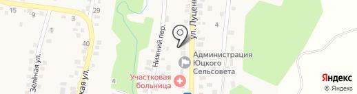 Почтовое отделение на карте Юц