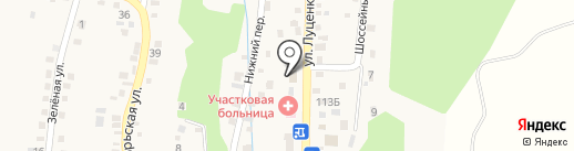 Администрация Юцкого сельсовета на карте Юц