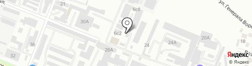 КАЛИБР на карте Пятигорска