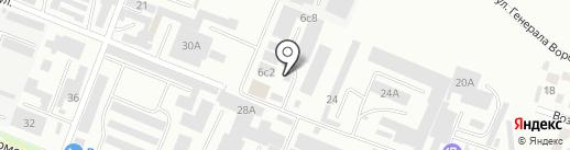 СНС Пятигорск на карте Пятигорска