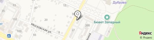 Всероссийское общество слепых на карте Железноводска