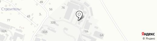 ТехГаз на карте Пятигорска