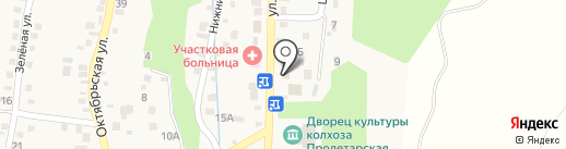 Участковый пункт полиции на карте Юц