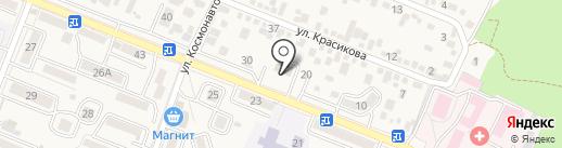 Отдел Военного комиссариата по г. Железноводску на карте Железноводска