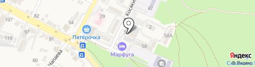 Парикмахерская на карте Железноводска