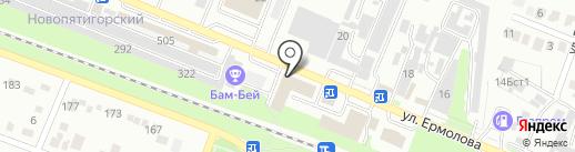 ДЕЛЬТА КРЕП на карте Пятигорска