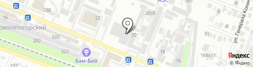 АРТлайн на карте Пятигорска