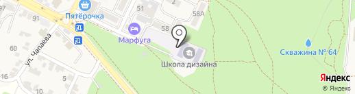 Южный федеральный университет на карте Железноводска