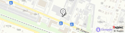 Автомагазин на карте Пятигорска