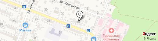 Клеопатра на карте Железноводска