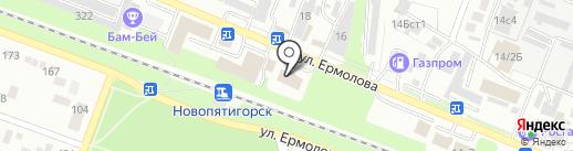 CLEAN CITY на карте Пятигорска