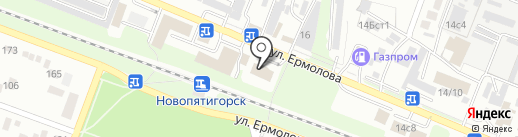 MAGNAT на карте Пятигорска