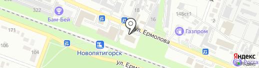 КОМПАНЬОН-РС на карте Пятигорска