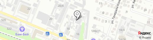 ГАРО на карте Пятигорска