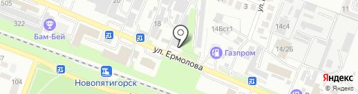 АВТО-ТРАКТОР ЗАПЧАСТЬ на карте Пятигорска