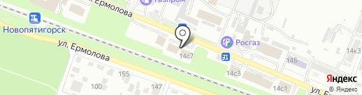 АВС-электро на карте Пятигорска