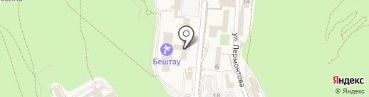 Банкомат, Сбербанк России на карте Железноводска