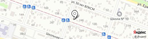 Ирина на карте Пятигорска