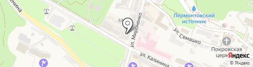 Аves на карте Железноводска