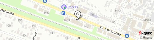 Любимый дом на карте Пятигорска