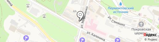 Мелисса на карте Железноводска
