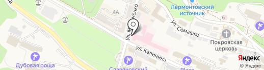 Клиника НИИ курортологии на карте Железноводска