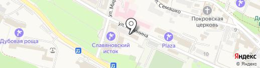 ДЮСШ на карте Железноводска