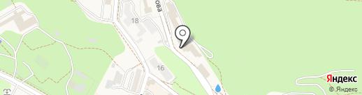Санаторий им. С.М. Кирова на карте Железноводска